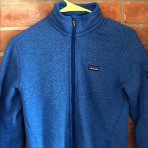 Patagonia blue sweater